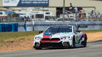 #81 BMW Team MTEK BMW M8 GTE: Martin Tomczyk, Nicky Catsburg, Alexander Sims, 1000 Miles of Sebring, Sebring International Raceway, Sebring, Florida