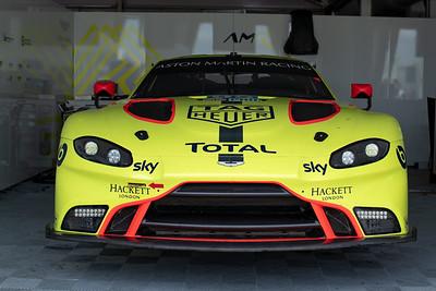 #95 Aston Martin Racing Aston Martin Vantage AMR: Marco Sorensen, Nicki Thiim, Darren Turner, 1000 Miles of Sebring, Sebring International Raceway, Sebring, Florida