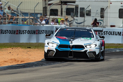 #82 BMW Team MTEK BMW M8 GTE: Antonio Felix da Costa, Bruno Spengler, Augusto Farfus, 1000 Miles of Sebring, Sebring International Raceway, Sebring, Florida