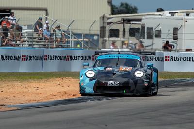 #77 Dempsey Proton Competition Porsche 911 RSR: Julien Andlauer, Matt Campbell, Christian Ried, 1000 Miles of Sebring, Sebring International Raceway, Sebring, Florida