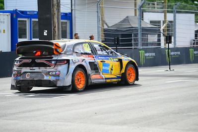 Marklund at start grid