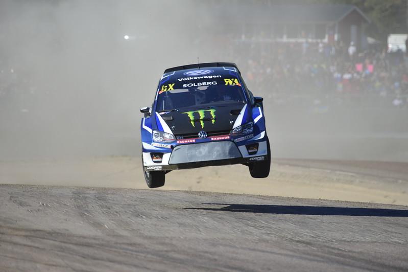 Petter Solberg  At Jump  Høljes