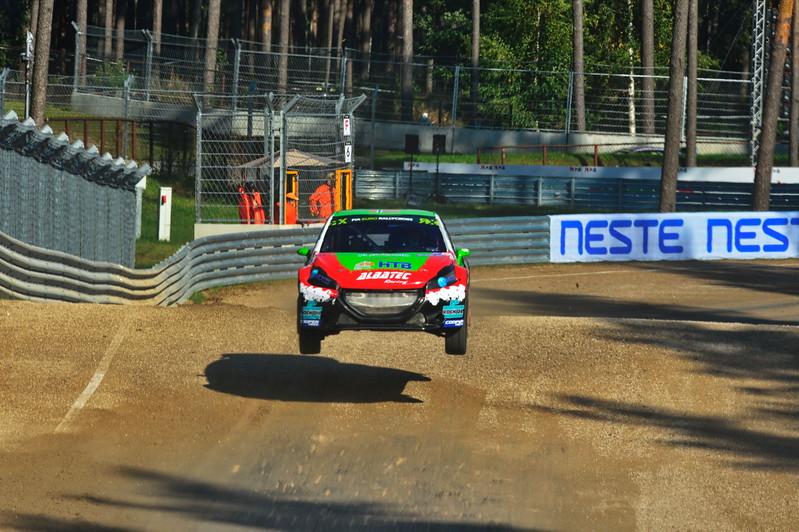 Tomy Rustad at the jump