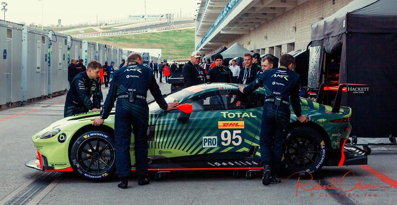 #95 Aston Martin Vantage AMR