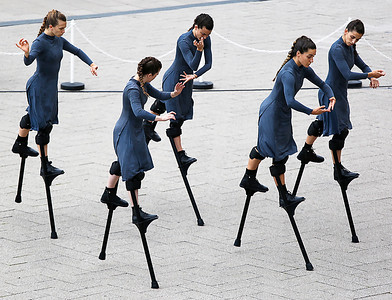 Stilts in Step