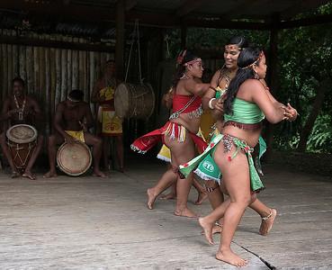 Carib Indian Dancers