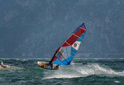 Windsurfing at Lake Garda