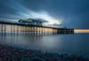 A cold Penarth pier