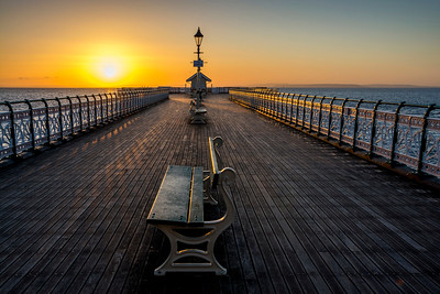 Morning at Penarth Pier