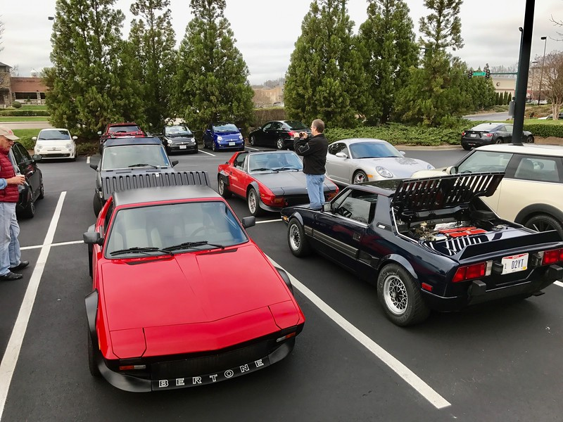 Fiat X1-9 on the Dragon