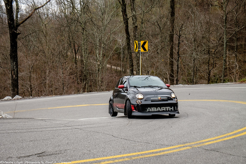 2017 Fiat on the Dragon Corner