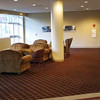 Lounge area in the Kellogg Center