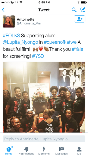Queen of Katwe College Tour - Yale University