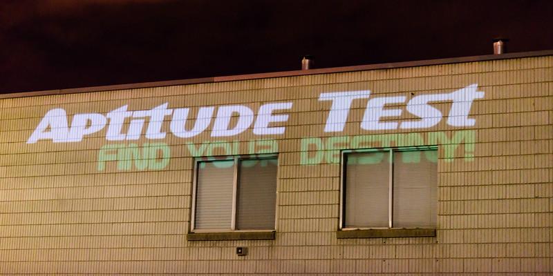 BTS Aptitude Test Day 1