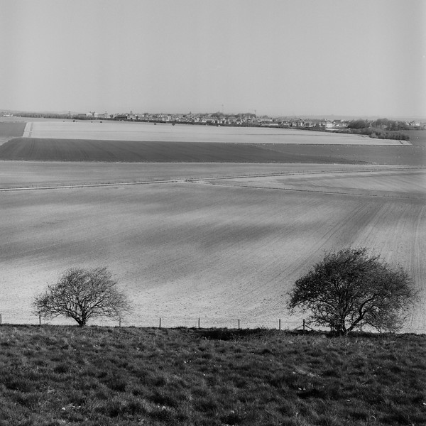 View From Maiden Castle, Dorchester, Dorset