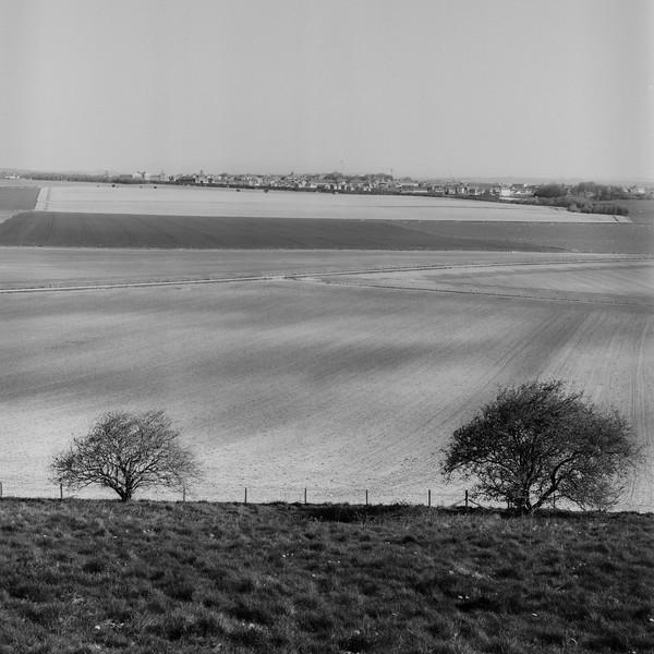 View From Maiden Castle, Dorchester, Dorset