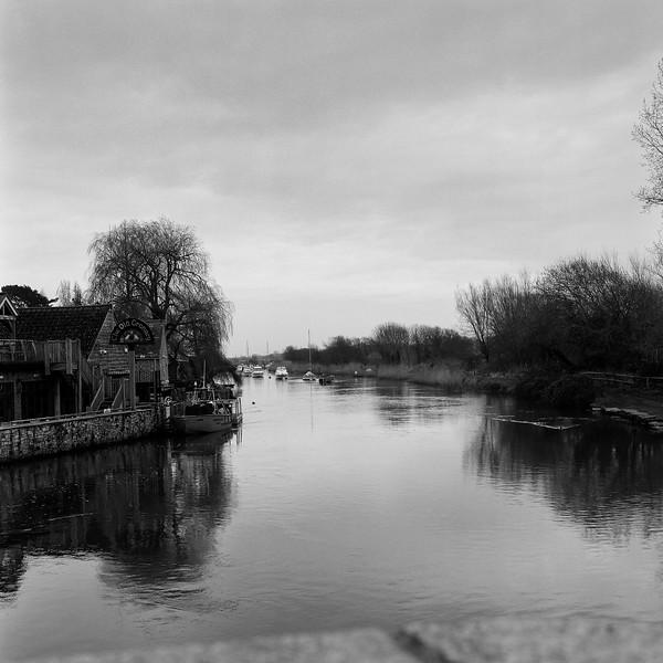river frome, wareham, dorset