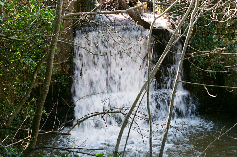 Waterfall, Corfe River, Corfe, Dorset