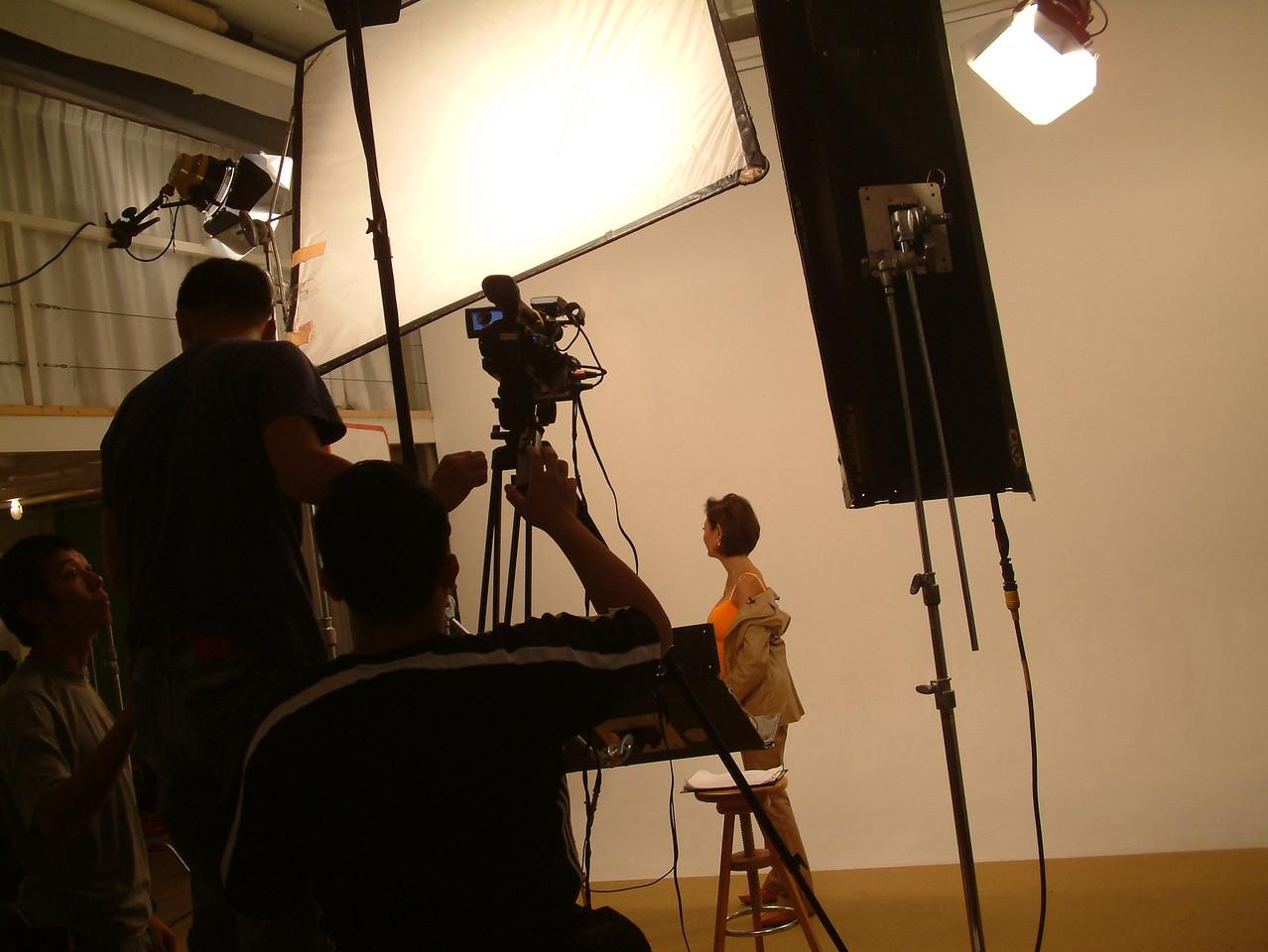 Shooting of Woori GMAL video