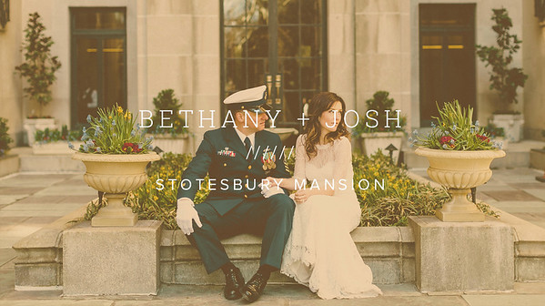 BETHANY + JOSH ////// STOTESBURY MANSION
