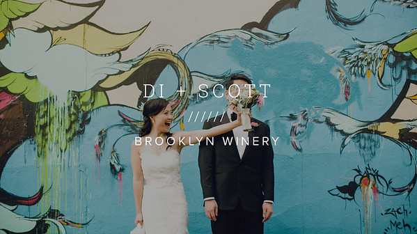 DI + SCOTT ////// BROOKLYN WINERY