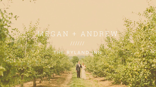 MEGAN + ANDREW ////// THE RYLAND INN