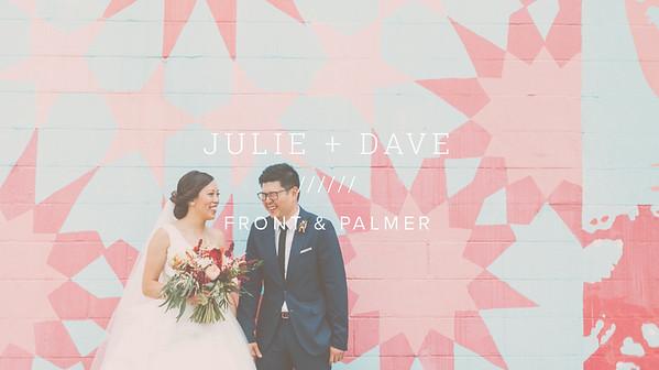 JULIE + DAVE ////// FRONT & PALMER