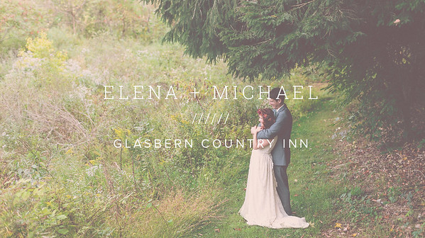 ELENA + MICHAEL ////// GLASBERN COUNTRY INN