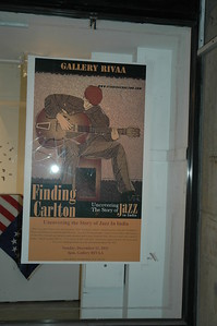 Finding Carlton Poster at RIVAA Gallery