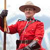 RCMP Musical Ride at Olympic Cauldron