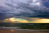 Storm Clouds over the ocean 1.
