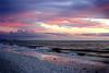 Sunset over the ocean4