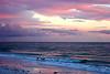 Sunset over the ocean3