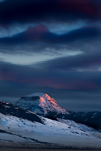 Last Light on the Mountain