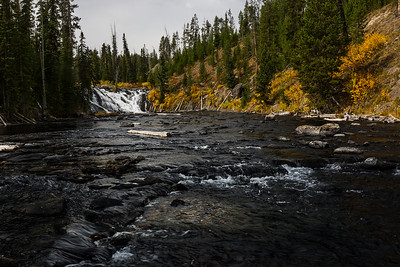 Fall on Lewis River