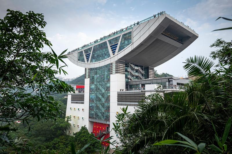Tour panoramique du Pic Victoria Hong Kong