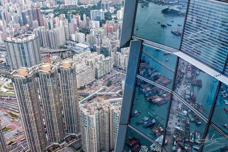 Vue du Sky100 Hong Kong