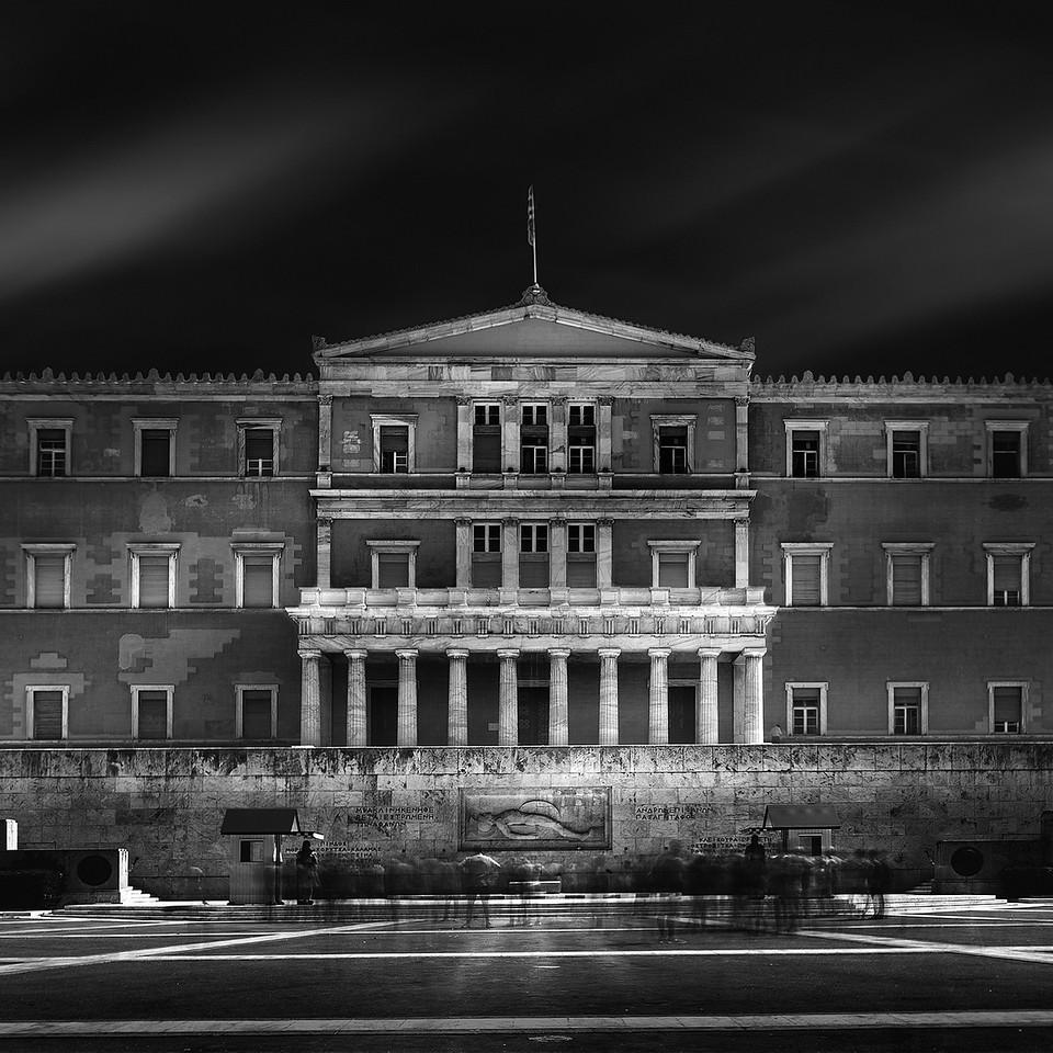 Parlement d'Athènes - Place Syntagma