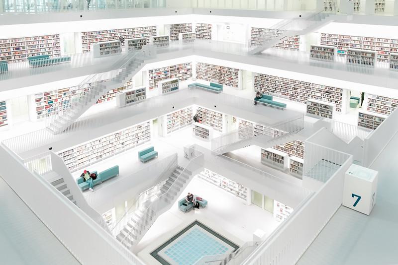 Stuttgart Germany Library