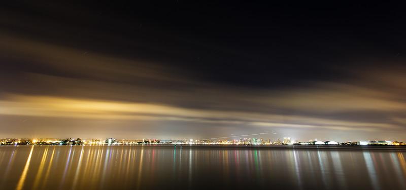 San Diego Skyline Panorama