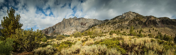 The Other Side of the Convict Lake, Panorama
