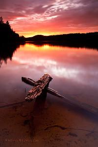 Small lake in Finland