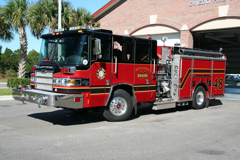 OVIEDO FL (SEMINOLE COUNTY) ENGINE CO. 48