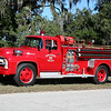 MONTVERDE FL (LAKE COUNTY) ENGINE CO. 851: 1956 FORD/SEAGRAVE