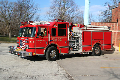 LAKE BLUFF IL (MABAS DIV. 4) ENGINE CO. 519