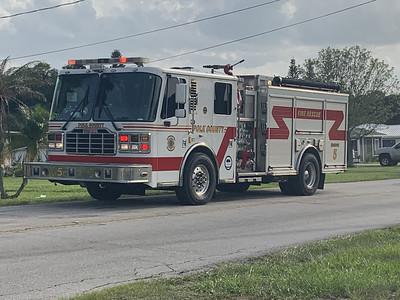 Polk County FL, Engien Co. 5