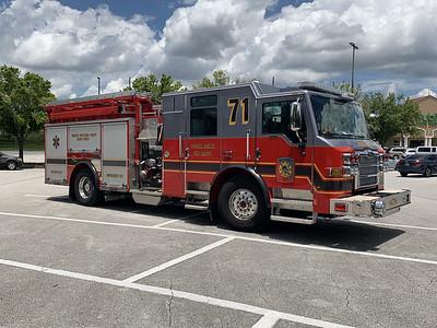 Osceola County FL, Engine Co. 71