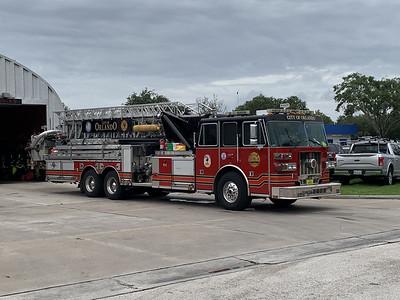 Orlando FL, Tower Ladder 9