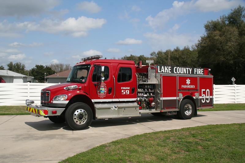 Lake County Fl, Engine Co. 59