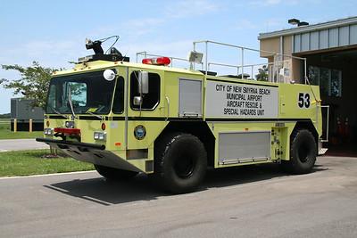 NEW SMYRNA BEACH FL, CRASH TRUCK 53